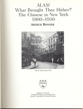 The Chinese in New York, 1800-1950