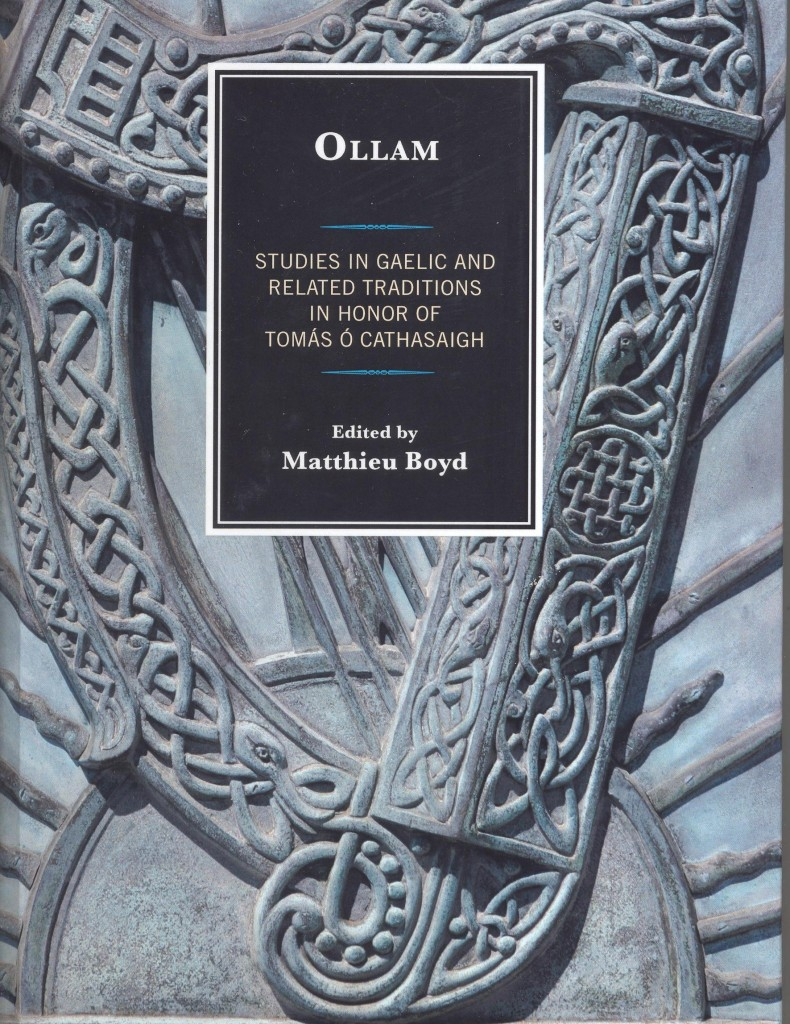 Studies in Gaelic and Related Traditions in Honor of Tomas O Cathasaigh